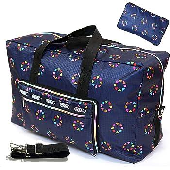 Travel Luggage Duffle Bag Lightweight Portable Handbag Fantasy Planet Pattern Large Capacity Waterproof Foldable Storage Tote