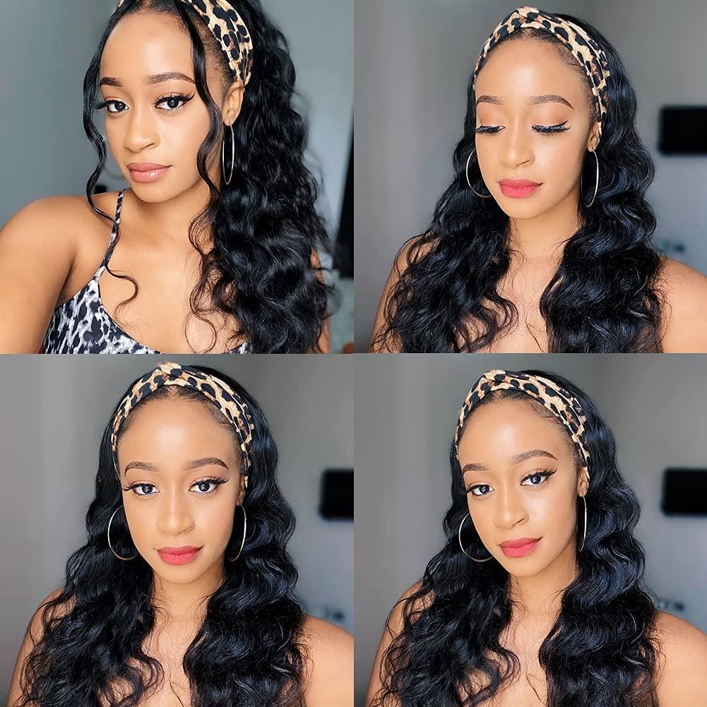 quality assurance Headband Wigs Human Hair Ayisha Weekly update Body Wi Wave
