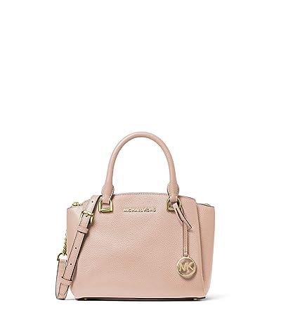 MICHAEL Michael Kors Maxine Small Messenger (Soft Pink) Messenger Bags