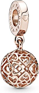 Pandora Hearts Rose dangle Charm - 787255