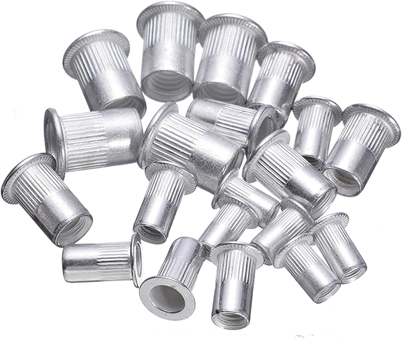 Sales JBZD Seasonal Wrap Introduction Rivet 100pcs Steel Aluminum nut Threaded kit nu