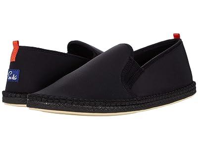 Sea Star Beachwear Mariner Slip-On Water Shoe (Black/Black Sole) Men