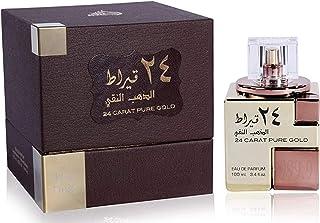 Lattafa Parfums 24 Carat White Gold For Unisex 100ml - Eau de Parfum