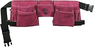 Graintex DS1118 8 Pocket Pink Tool Belt, Pink