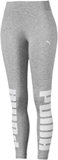 PUMA Women's Rebel Leggings, (Gray 04), Medium