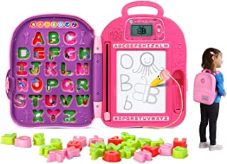 LeapFrog Go-with-Me ABC Backpack, Pink (Renewed)