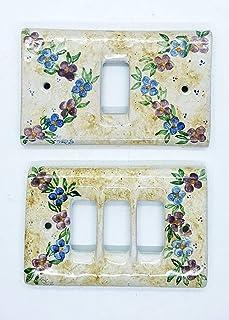 Placchette Bticino Magic Ceramica Handmade Le Ceramiche del Castello Made in Italy