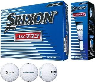 DUNLOP(ダンロップ) ゴルフボール SRIXON AD333 2018年モデル 1ダース(12個入り)
