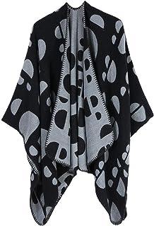 شال ملفوف للأوشحة تيبيت جديد للنساء مع أغطية أرجل واسعة وطويلة في الخريف والشتاء وعباءة دافئة (اللون: D، الحجم: 130 * 150 سم)