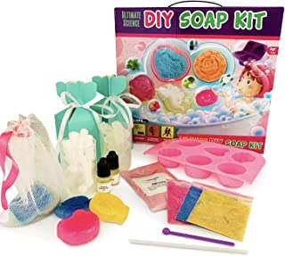 Baby Mushroom DIY Soap Making Kit - Kids, Make Your Own Soap with Silicon Molds, Ingredients, Tools, & Gift Boxes by Ultimate Science