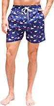 Janmid Mens Quick Dry Swim Shorts Swim Trunks Mens Bathing Suits with Mesh Lining