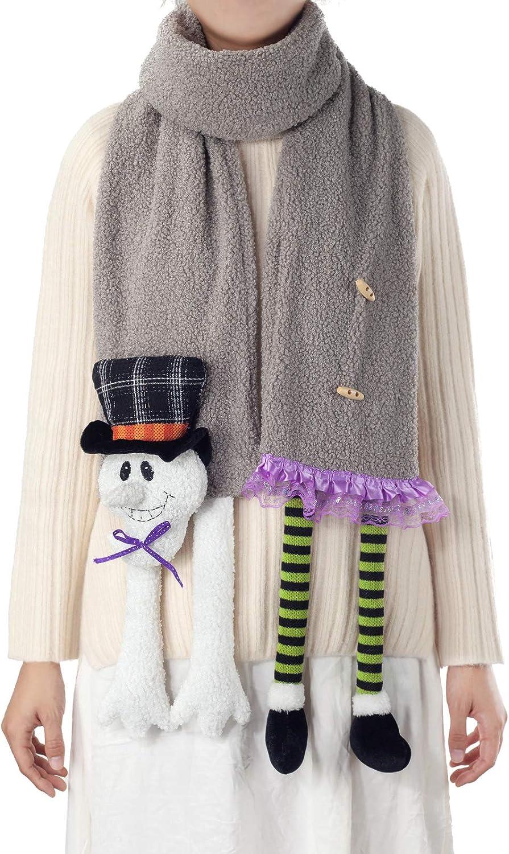APCHFIOG Fashion Scarf Winter Warm Scarves Long Scarf Cashmere Feel Shawl Holiday Decorations Gifts for Women Men Girls Boys