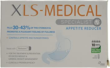 XLS-Medical Appetite Reducer - Effective Appetite and Hunger Pangs Control - 60 Tablets , 10 Days Treatment
