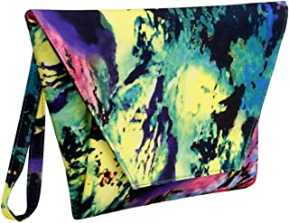 BMC Women's Fashion Handbag Oversized Envelope Clutch w/ 2 Detachable Straps