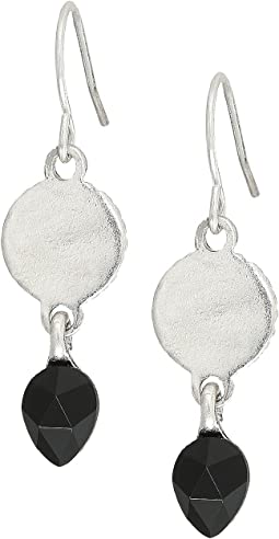 The Sak - Circle Color Drop Earrings
