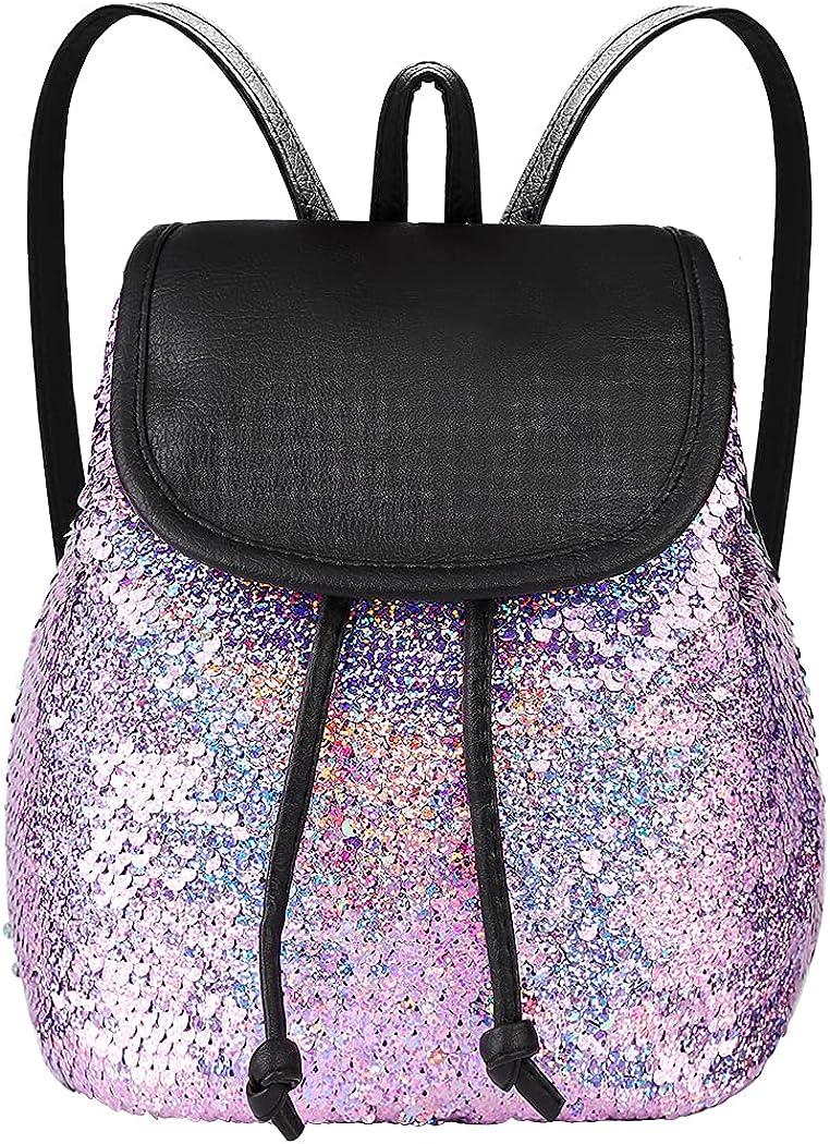 Outstanding girls mini toddler Flip sequin teens cute 2021 autumn and winter new chool backpacks little