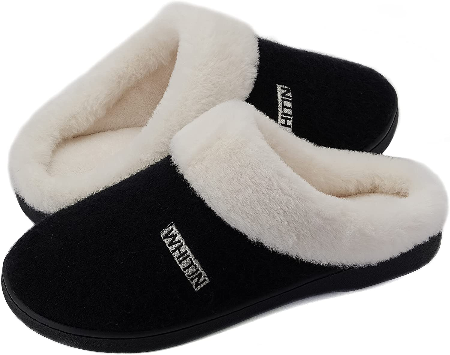 WHITIN List price Women's Knit Warm Fluffy Memory Year-end annual account Foam S Bedroom House Soft