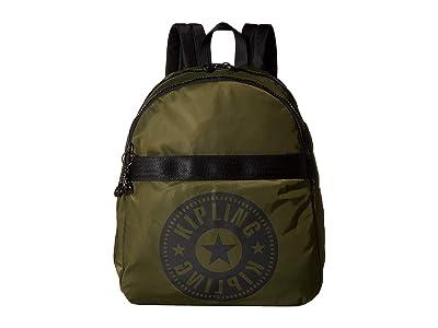 Kipling Maybel Backpack (Jaded Green) Backpack Bags