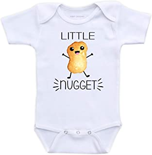 Little Nugget - Funny Unisex Baby Bodysuit (Short Sleeve Cotton Bodysuit)