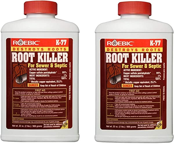 Roebic Laboratories K 77 Root Killer 32OZ 2
