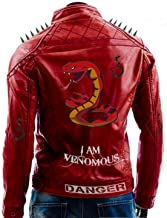 Mens Cafe Racer Brando Motorcycle Retro Biker Leather Outerwear Jacket Collection