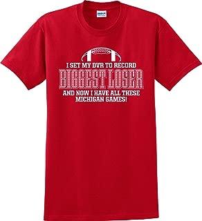 Ohio State Buckeyes Fans Biggest Loser Michigan T-Shirt (S-5X)