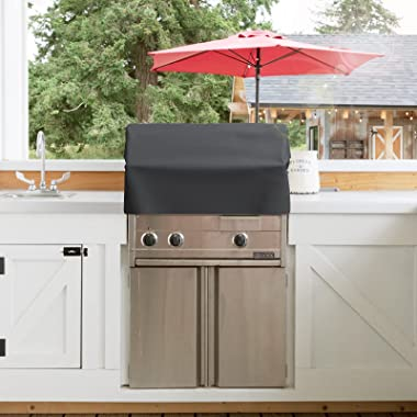 GASPRO 36 Inch Built-in Grill Cover for KitchenAid, Coyote, DCS, Jenn-Air, and Lynx, Water & Wind Resistant Island Grill