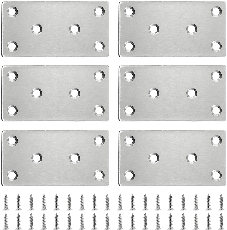 0.05 Thickness Stainless Steel Straight Corner Brackets 2.4 x 1.5 ...