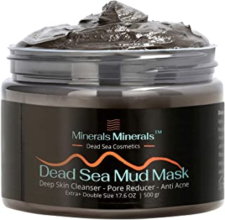 Dead Sea Mud Mask Natural 500 gr Face and Body Skin Care, Minerals Nature Quality Skincare Spa for Women, Men - Deep Skin ...