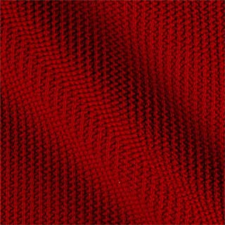 Telio Paola Pique Liverpool Knit Fabric, Hermes Red, Fabric by the yard
