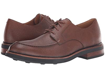 Clarks Whitman Lace (Dark Tan Leather) Men