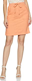 Marks & Spencer Synthetic A-Line Skirt