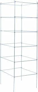 Panacea Products 89714 Folding Professional Gauge Galvanized Tomato Cage and Plant Support, 72 by 21-Inch