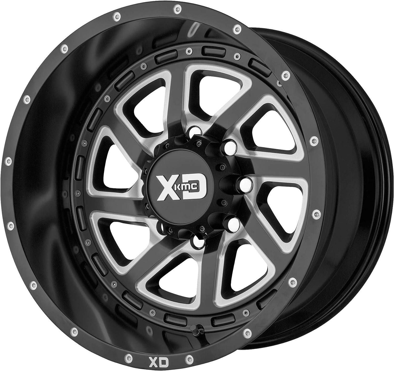Max 87% OFF XD SERIES Under blast sales XD833 Recoil 20X9 Black Milled Reversible 6X139.7 ET30