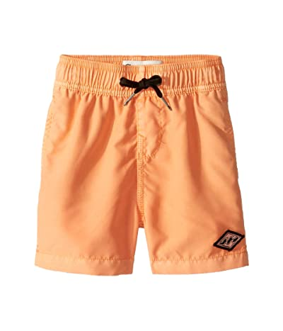 Billabong Kids All Day Layback Boardshorts (Toddler/Little Kids) (Neon Melon) Boy