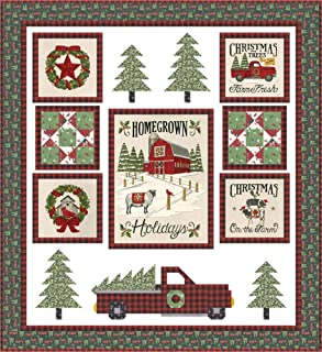 Deb Strain Homegrown Holidays The Perfect Tree Quilt Kit Moda Fabrics KIT19940