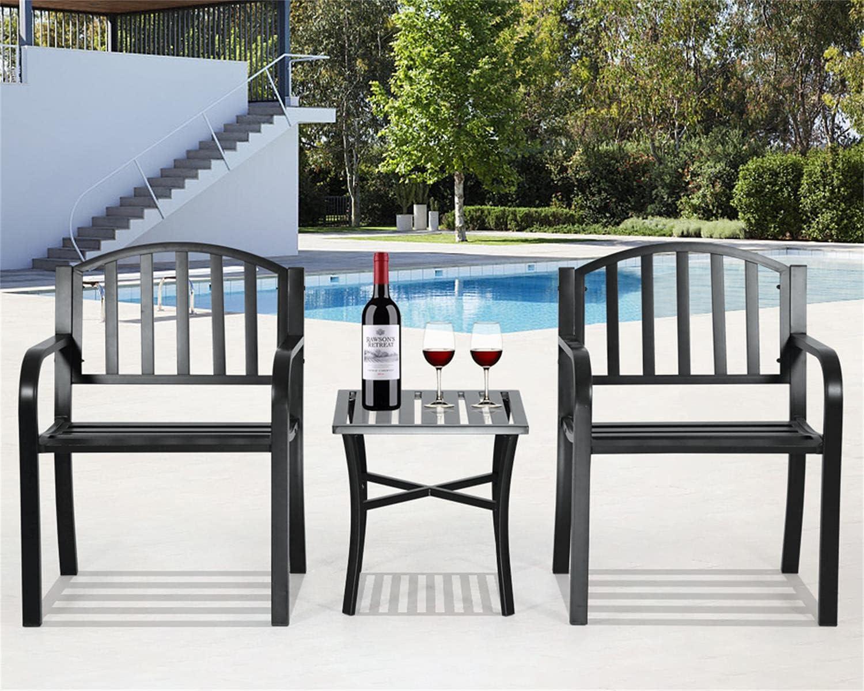 Los Angeles Mall 3 Piece Virginia Beach Mall Patio Furniture Sets Set Bistro Metal Outdoor Table