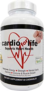 Cardioforlife Chewables Berry 60 Tablets