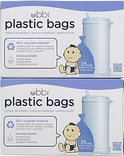 Ubbi Plastic Bags - 50 ct