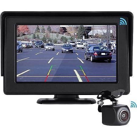 Pomile Kabellos Digital Rückfahrkamera Auto Elektronik