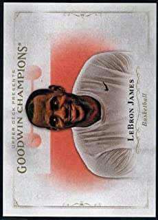 MultiSport MultiSport 2016 Upper Deck Goodwin Champions #54 LeBron James #54 NM+