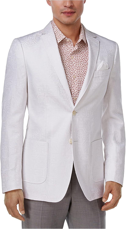 Tallia Mens Tonal Two Button Blazer Jacket