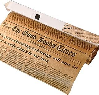 DIYARTS 300 * 25 cm Silicone Papier Réutilisable Greaseproof Mode Conception Papier d'emballage Alimentaire Papier Brun Ba...