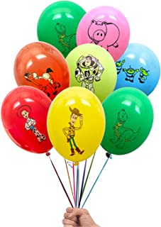 """Toy Story Woody and Friends 21 Count Party Balloon Pack - Large 12"""" Latex Balloons"""