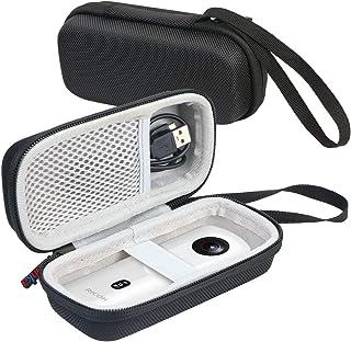 Khanka 専用保護収納ケース 用の にとって リコー 360度カメラ RICOH THETA SC2 / Theta S、V 360/ Theta SC 360 (ホワイト)