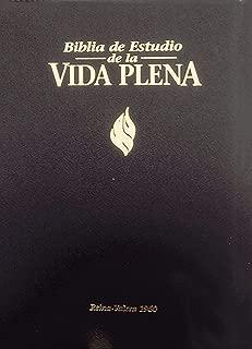 Bíblia de Estudio Vida Plena - Tela Negro