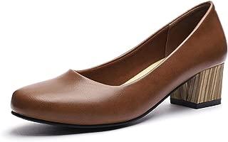 GUCHENG Womens Womens Office Dress Shoes
