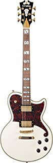 D'Angelico Deluxe Atlantic Electric Guitar - Vintage White