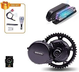 Derruiz Bafang BBS02B 48V 750W BBS02 8FUN - Kit de bicicleta eléctrica con batería y cargador E Bike Motor 8fun Mid Conver...