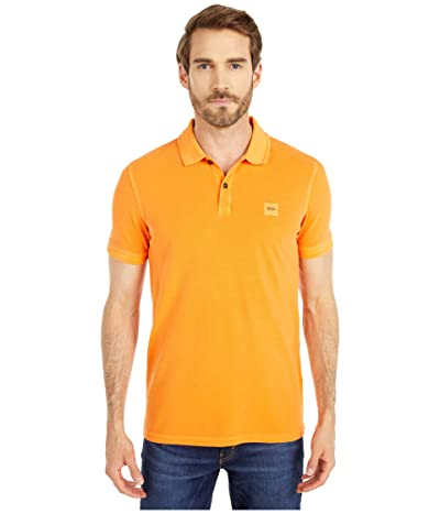 BOSS Hugo Boss Prime Polo (Bright Orange) Men